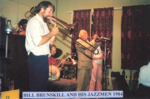 Bill Brunskill and his Jazzmen 1984