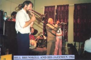 Bill Brunskill and his Jazzmen 1984