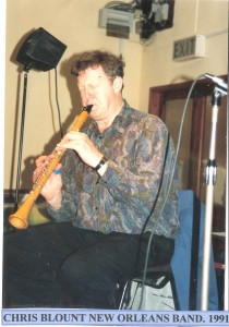 Chris Blount New Orleans Band 1991