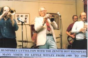 Humphrey Lyttleton & Zenith Hot Stompers 1989 - 1996