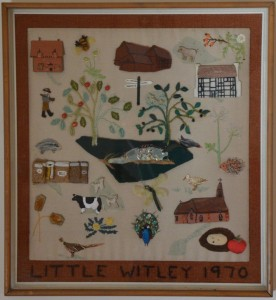 Little Witley 1970 Collage