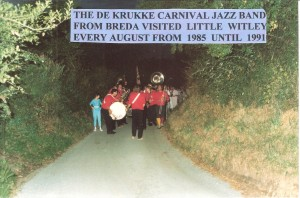 The De Krukke Carnival Jazz Band from Breda at Little Witley