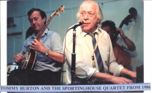 Tommy Burton & The Sportinghouse Quartet 1986