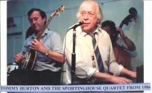 Tommy Burton & The Sportinghouse Quartet 1986